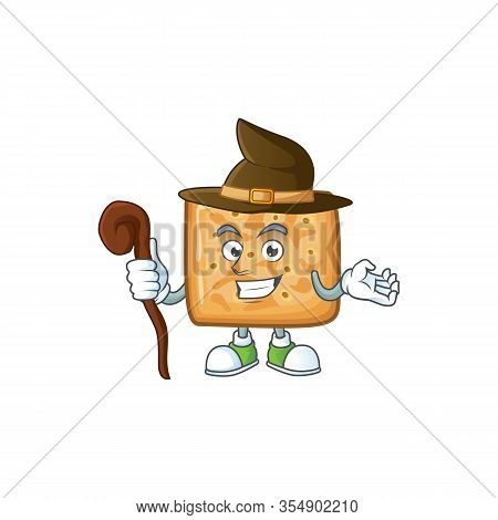 Sweet And Tricky Witch Crackers Cartoon Character