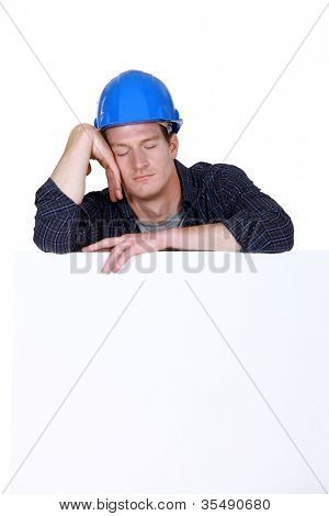 craftsman sleeping