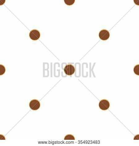 Illustration On Theme Big Set Identical Biscuit, Kit Colorful Pastry Cookie. Cookie Consisting Of Co