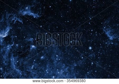 View of the space from the moon. Elements of this image furnished by NASA