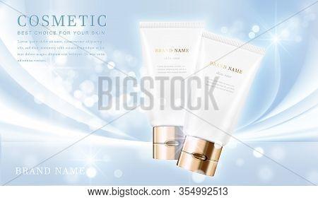 Cosmetic Bottles_elegant Blue 02