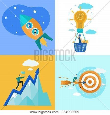 Set Informational Poster Movement Towards Goal. Formulation Expectations Regarding Improvement Indic