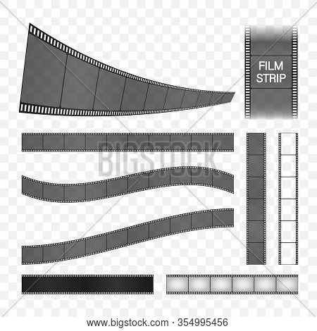 Film Strip Collection. Cinema Frame. Retro Film Strip, Great Design For Any Purposes. Vector Stock I