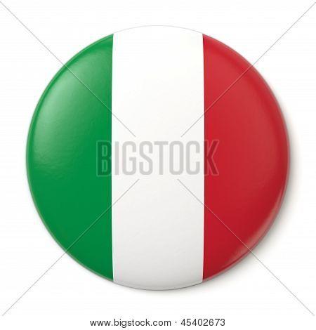 Italy Pin-back
