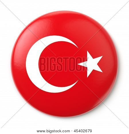 Turkey Pin-back
