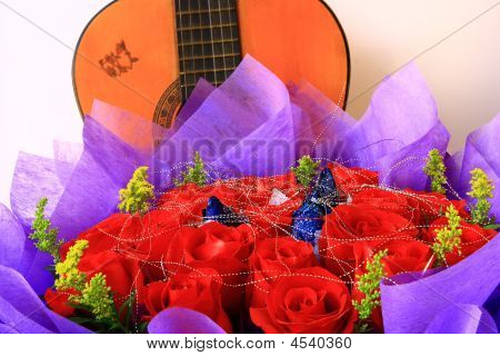 Rose With Guitar