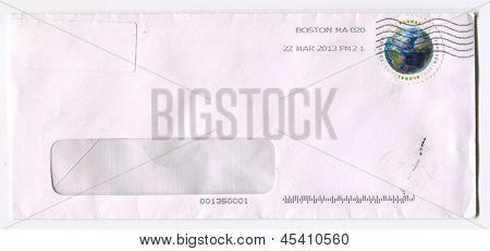 USA - CIRCA 2013: A stamp printed in USA shows image of the Globus, circa 2013.