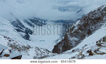 Gondogoro Glacier, Karakorum, Pakistan