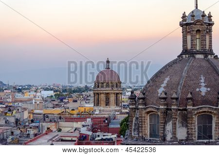 Cathedral Dome And City