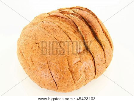 Isolated Sliced Bread