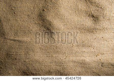 Menta arpillera lienzo textura de fondo