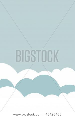 Sky Cloud Illustration