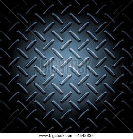 Metallic Plate Texture Background
