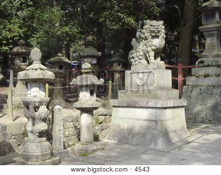 The Terrytory Of Shinto Temple.