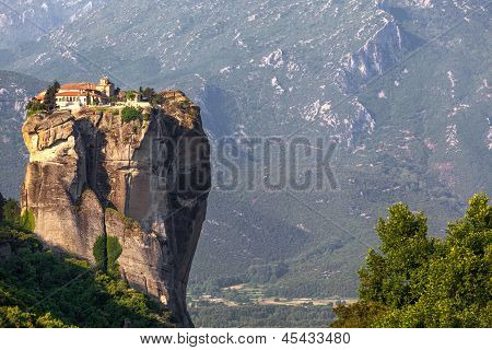 Greece, Meteora, Monastery Holy Trinity, Was A Location For James Bond Film