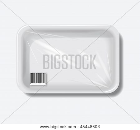 Empty plastic containers