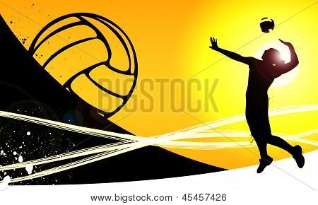 Volleyball Background