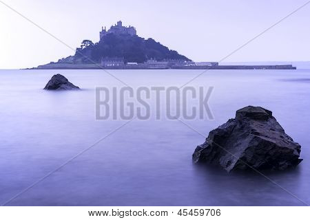 St Michael's Mount Bay Marazion long exposure landscape