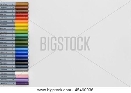 Water-colour Pencils 01