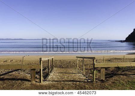 Walk Down To The Beach, Taipa Beach, New Zealand