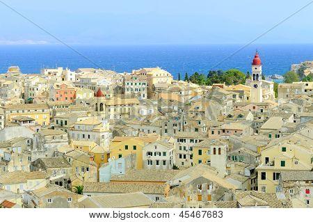 City Of Kerkyra, Aerial View