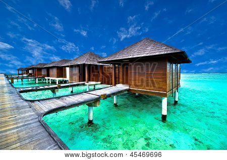 Schöne Water-Villa in Strand