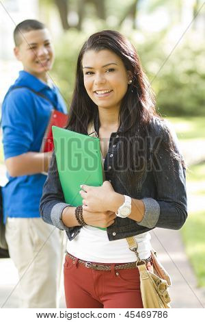 Two Happy Students