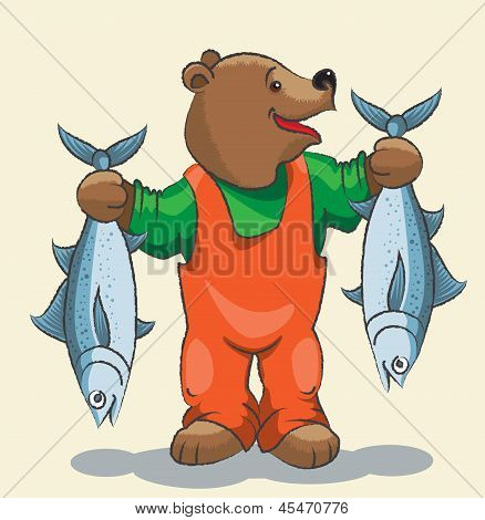 Bear - Fisherman