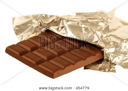 Chocolate In Foil