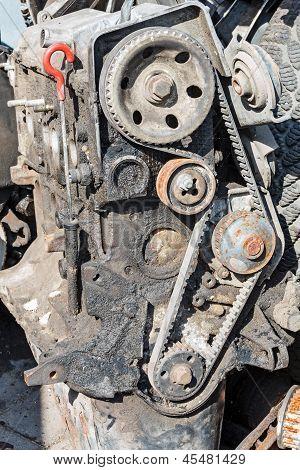 Old Petrol Engine