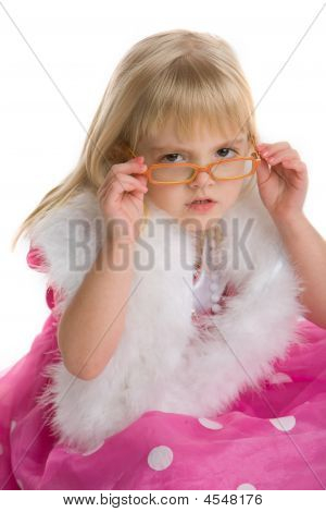 Little Girl With Glasses