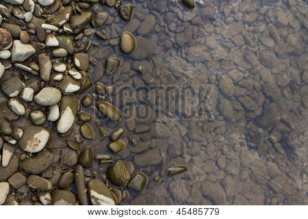 Shore With Smooth Stones