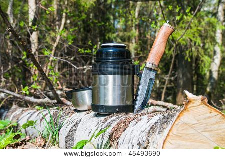 Thermos And A Knife