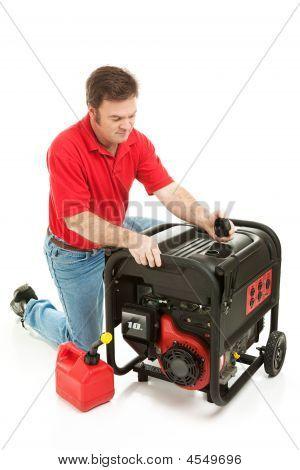 Disaster Preparedness - Checking Generator