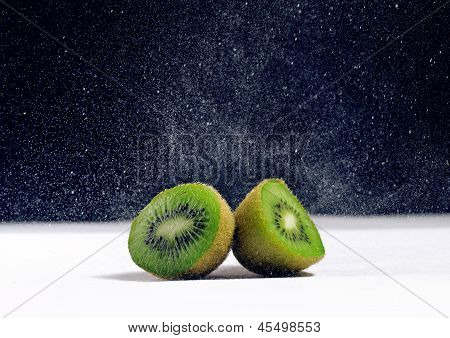 Fresh kiwi close up