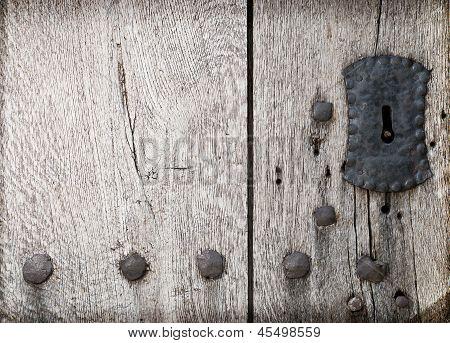 Ancient gateway keyhole