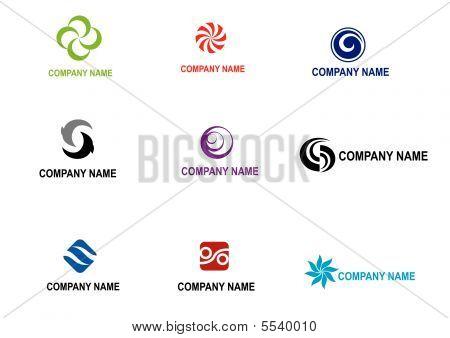 Set Of Vector Logos