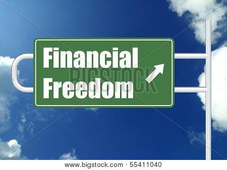Financial freedom with sky