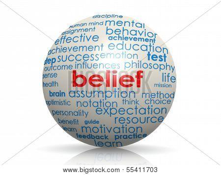 Belief sphere