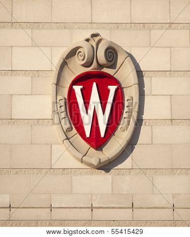 University of Wisconsin Madison School Crest