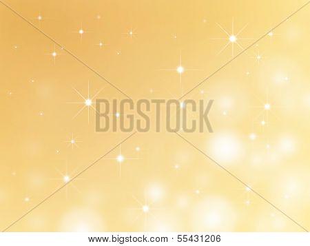 Stars Christmas Background