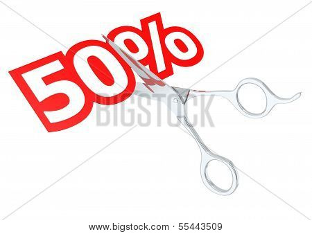 Cut 50 percent