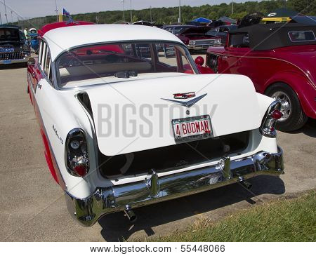1956 Chevy Bel Air Rear View