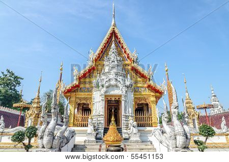 Wat Phra That Su Thon Mongkhon Khiri Samakkhi Phrae Province Thailand Phrae Province Thailand poster