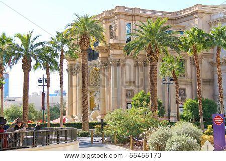 Caesar's Palace On The Vegas Strip  In Las Vegas