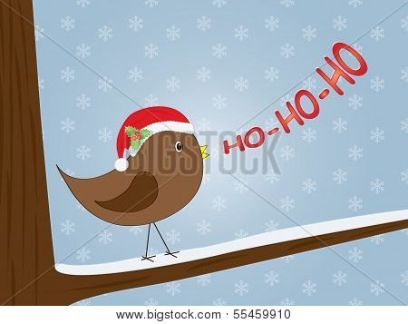 Bird Singing Ho-ho-ho