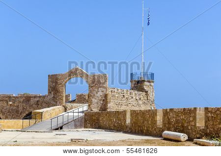 Chania - May 21 - Old Town.the Maritime Museum Of Chania, Crete, May 21, 2013, editorial use