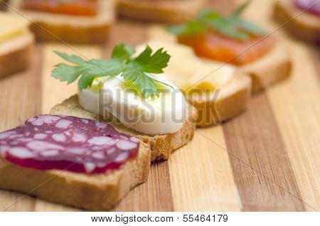 Snacks for buffet