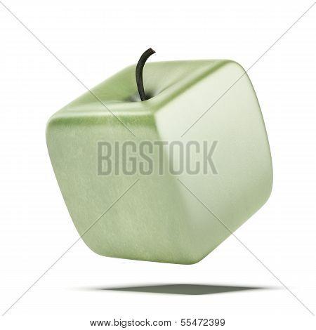 cubic apple fruit