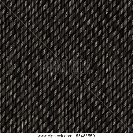 Seamless Carbon Fiber Pattern